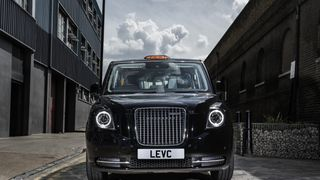 The new electric TX: 'designed around a London cabbie'. Pic: LEVC