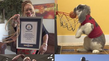 Thousands of new world records have been set and recorded in the Guinness Book of Records