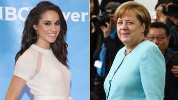 Meghan Markle and Angela Merkel