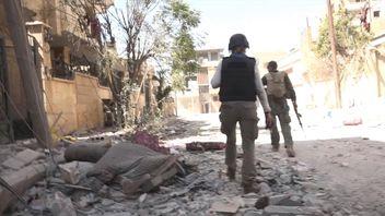 Alex Crawford in Raqqa