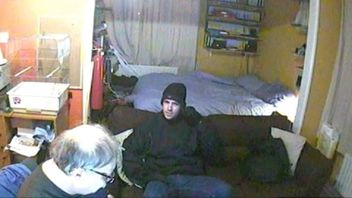 Killer filmed on victim's CCTV before perpetrating crime