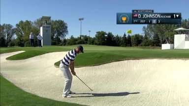 Johnson's bunker hole-out