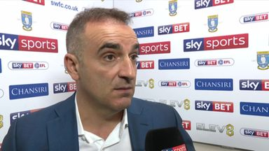 Carvalhal: Blame me not the players