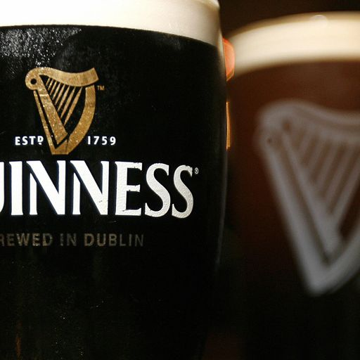 Guinness maker removes plastic from beer packaging
