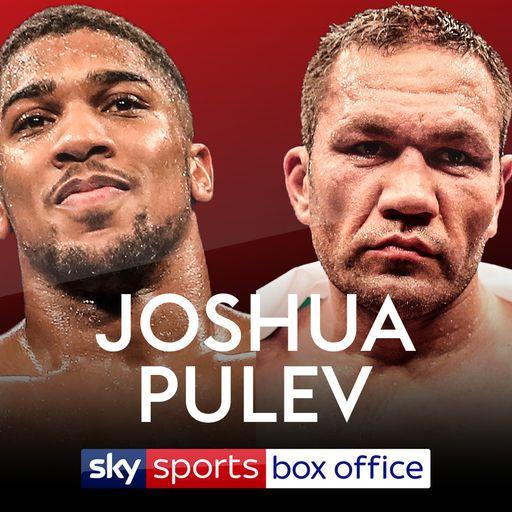 Joshua vs Pulev on Box Office