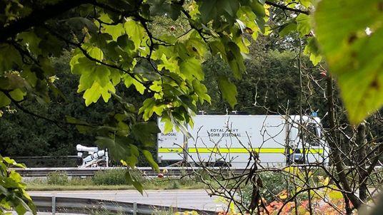 Bomb disposal experts investigate mysterious hazard