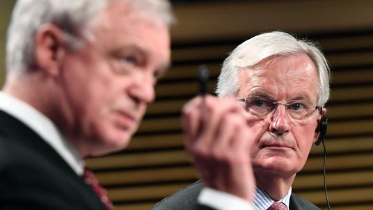 David Davis has been unable to focus on topics Britain desperately wants to discuss
