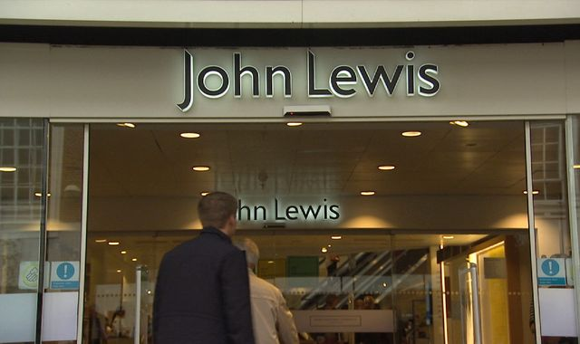 Britain's John Lewis expects profit squeeze from competition
