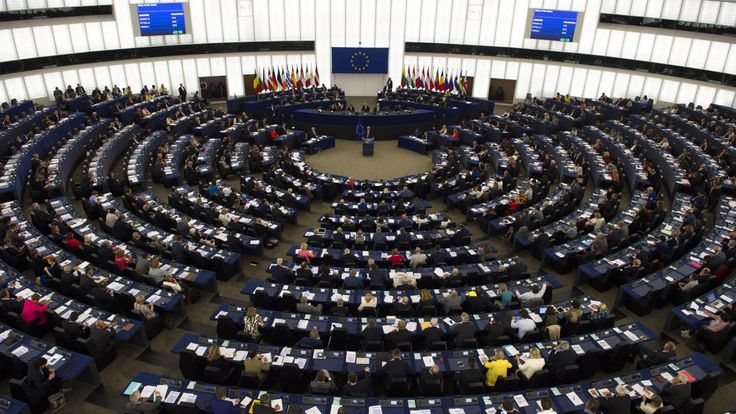 Jean-Claude Juncker delivers his State of the Union speech at the European Parliament in Strasbourg