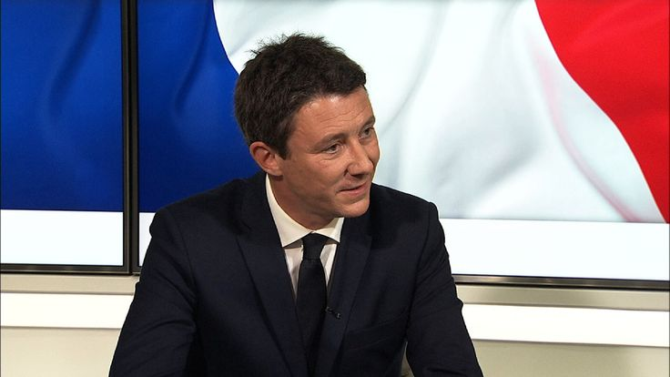 The French junior economy minister Benjamin Griveaux