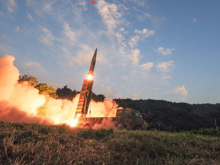 South Korea has performed missile drills in the wake of its neighbour's nuclear test
