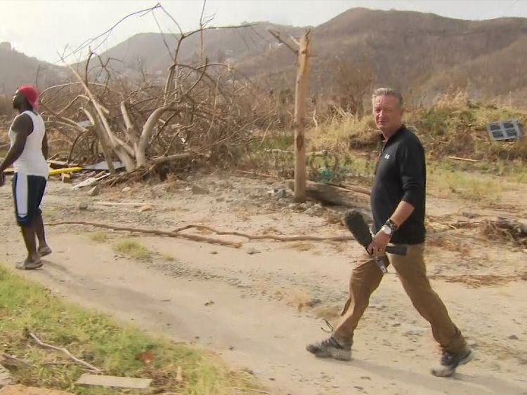 Stuart Ramsay's guide was disorientated by the scale of the devastation