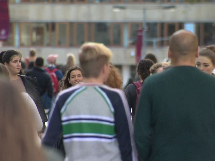 Scottish students do not pay tuition fees