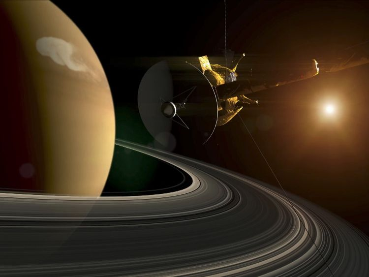 Cassini's 20-year mission to Saturn is coming to a fiery end