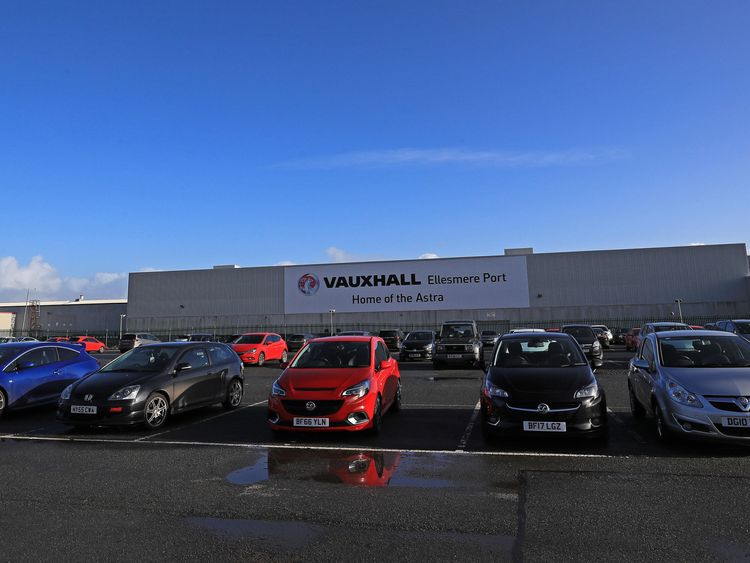 Vauxhall to cut a quarter of factory workforce