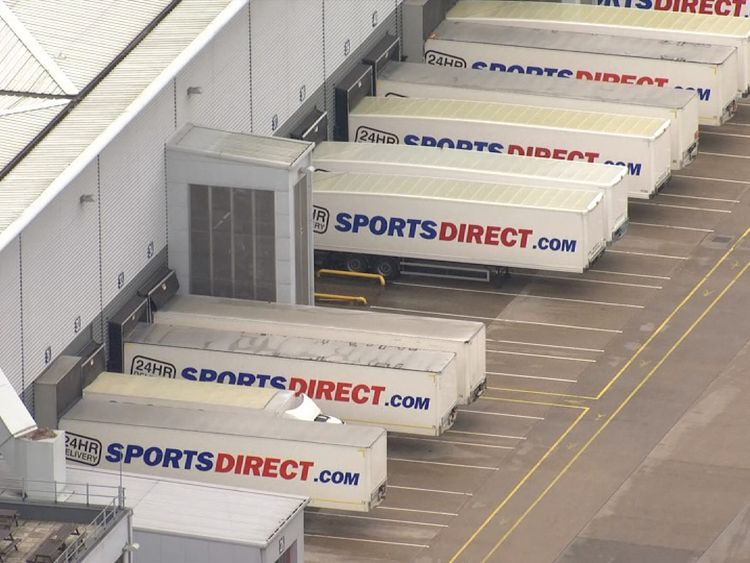 Sports Direct is majority-owned and run by Mike Ashley