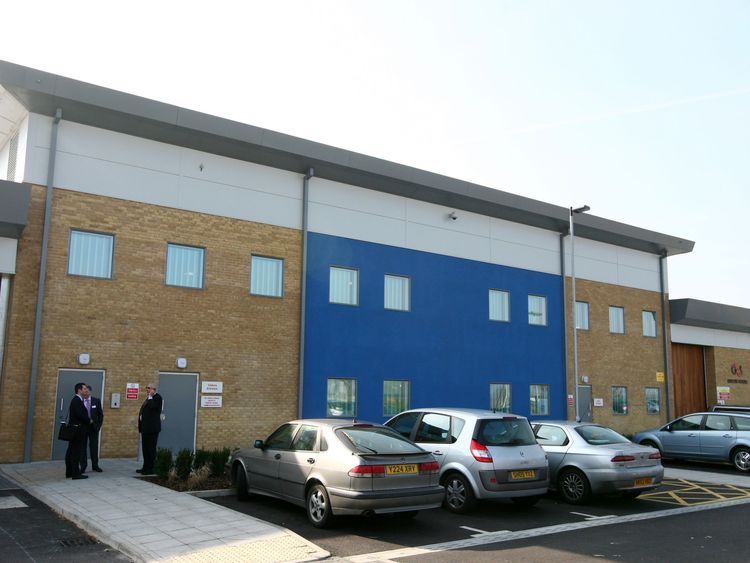 File photo dated 18/03/09 of Brook House Immigration Removal Centre, next to Gatwick Airport in West Sussex. Nine staff have been suspended from a G4S immigration centre after claims of abuse and assaults against detainees.