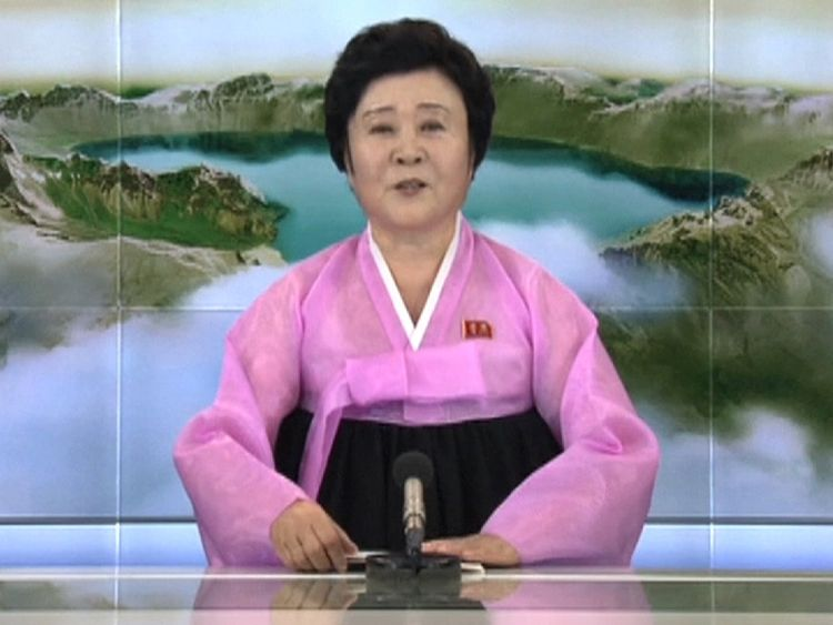An official announcement was made on North Korean state media