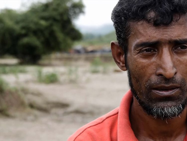 Hussein says he knows some who have made it to Bangladesh but he's too afraid to try