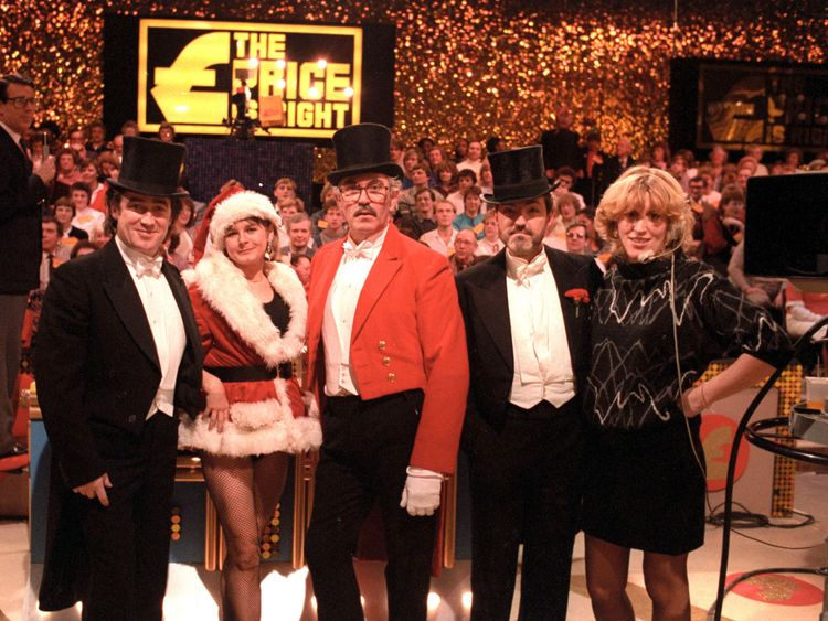 William G Stewart on The Price Is Right. Pic: ITV/REX/Shutterstock