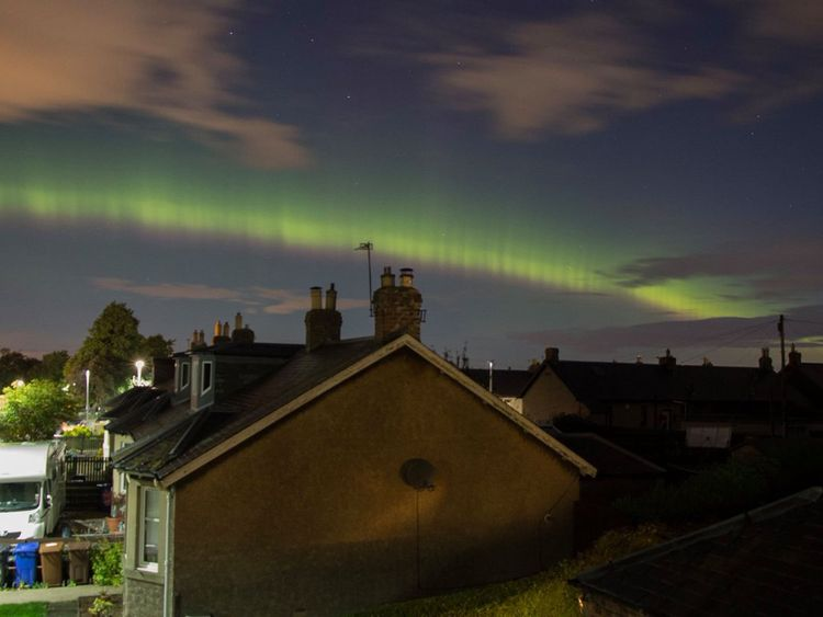Stunning Northern Lights display could be visible in North-east TONIGHT