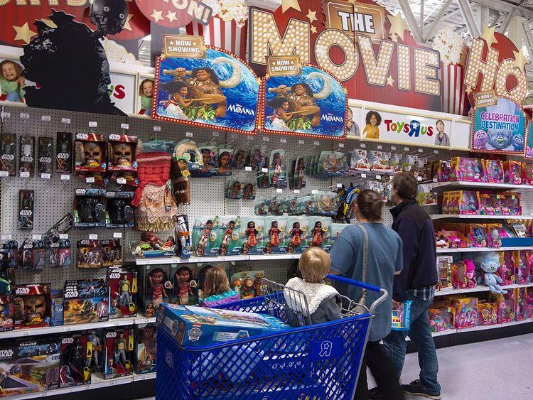Toys R Us  employs 64,000 staff worldwide