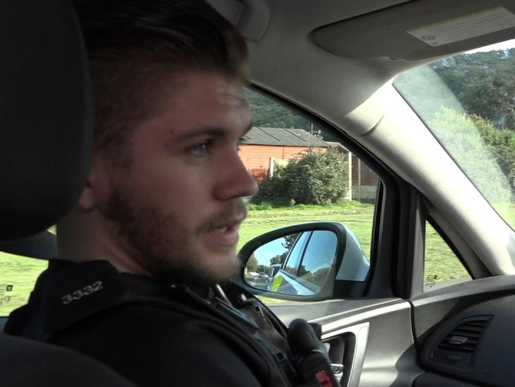 PC Harvey is one of many police who have sought help for stress