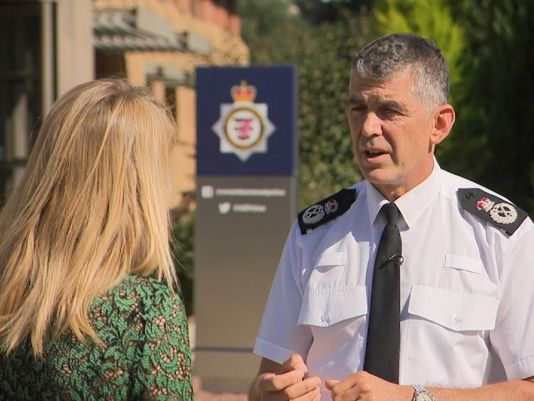 Chief Constable Andy Marsh says his officers are under 'huge strain'