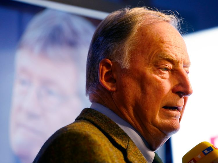 Alexander Gauland vowed to change the country