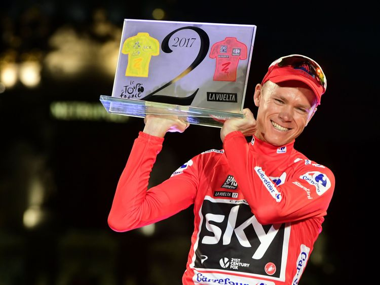 Tour de France victor Froome failed drugs test during Vuelta