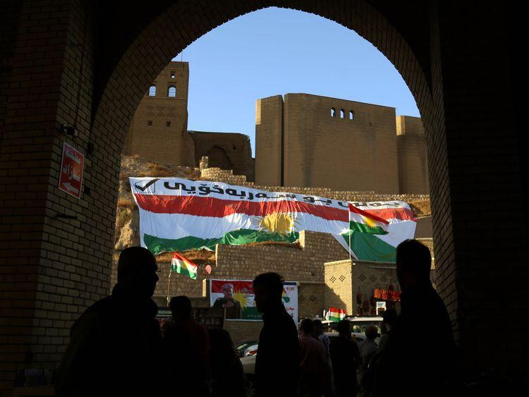 The citadel in Erbil