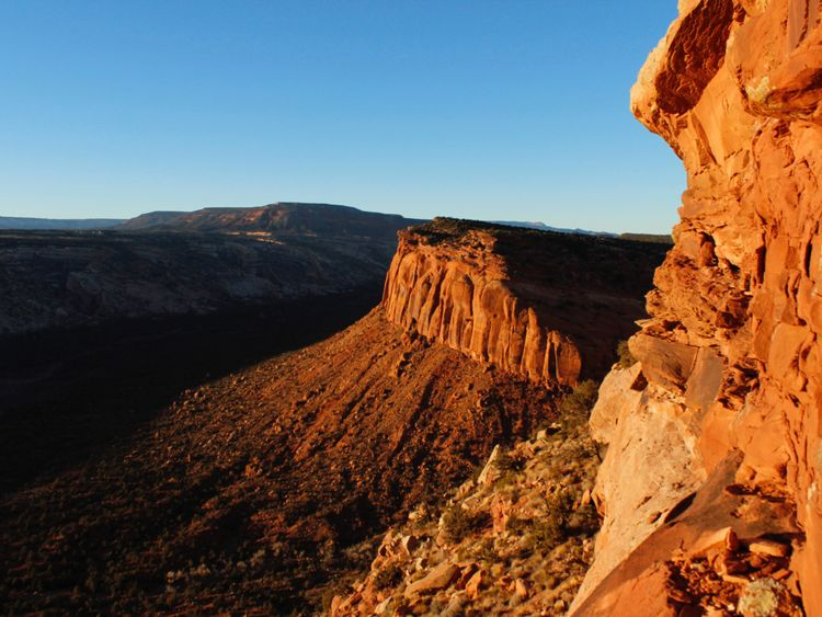 The view from Comb Ridge is pictured in Utah's Bears Ears area of the Four Corners Region, Utah