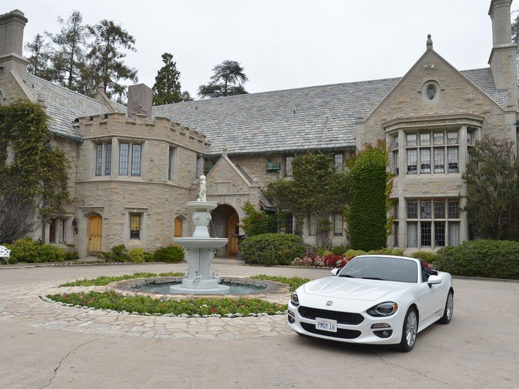 Hefner's Playboy Mansion in Los Angeles, California