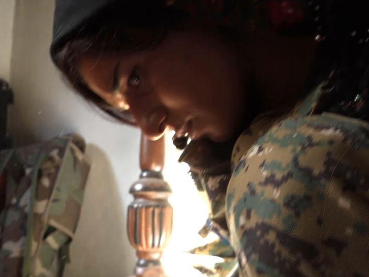 Yazidi women want revenge