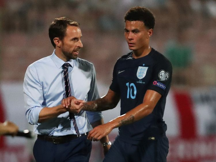 Dele Alli has been included in England's squad, despite facing a possible four-match ban from FIFA