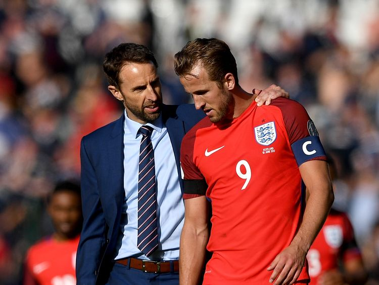 Gareth Southgate and Harry Kane will be hoping to boost England at the 2018 World Cup