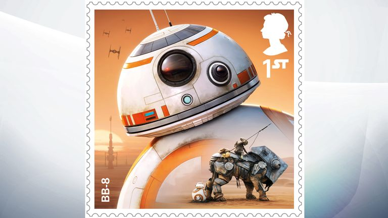 The droid BB-8 is a loyal companion to Resistance fighter Poe Dameron