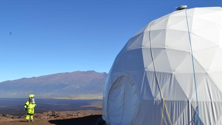 Mauna Loa was selected as the Mars-like environment. Pic: University of Hawaii/HI-SEAS