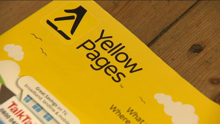 The Yellow Pages will no longer be published on paper from next year  onwards, more than five decades after it launched in the UK