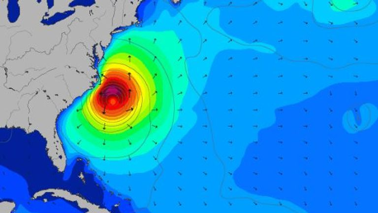 Hurricane Maria will cause dangerous swells along the Atlantic coast