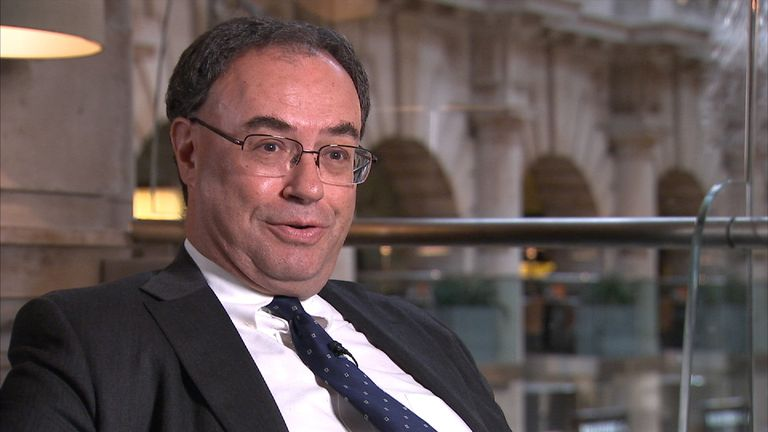 Andrew Bailey was a deputy governor of the Bank of England when Northern Rock struck problems