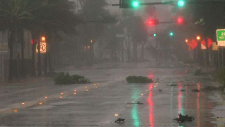 Most of Florida's coastline remains under hurricane watches and warnings