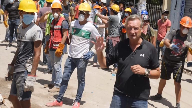 Sky's Stuart Ramsay is reporting from Mexico