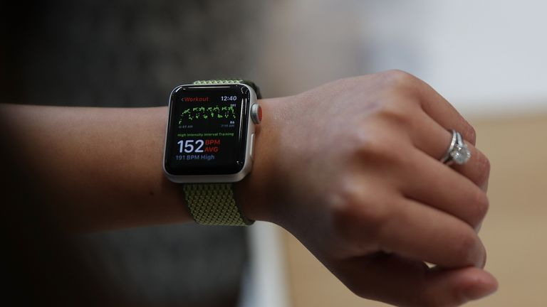 The new Apple Watch Series 3 includes its own mobile signal