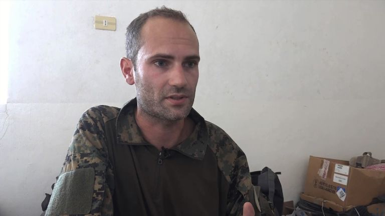 Macer Gifford is 30 and from Cambridge but went to join kurdish forces fighting IS in Raqqa