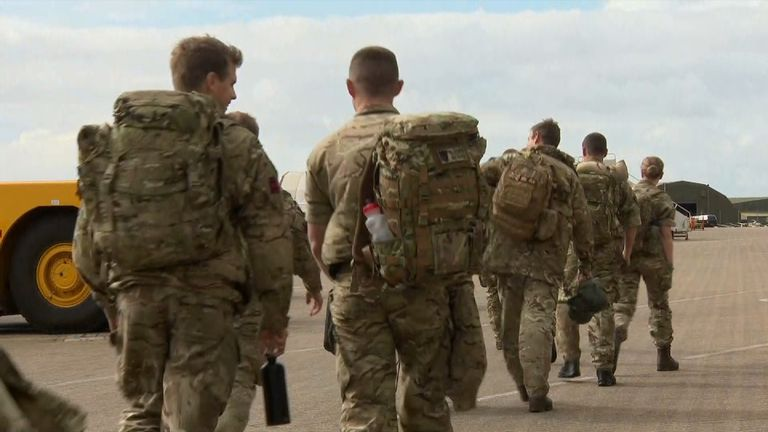 Among the troops being sent to the Caribbean are medics and engineers