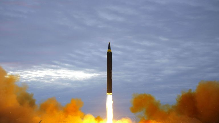 North Korea has been pressing ahead with its weapons programme