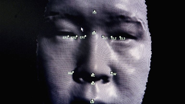 Image of similar technology which measures facial features