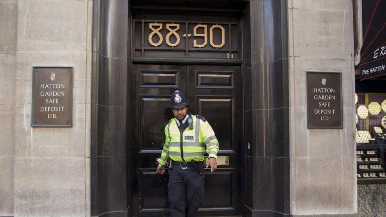The heist was the biggest ever commercial robbery in Britain
