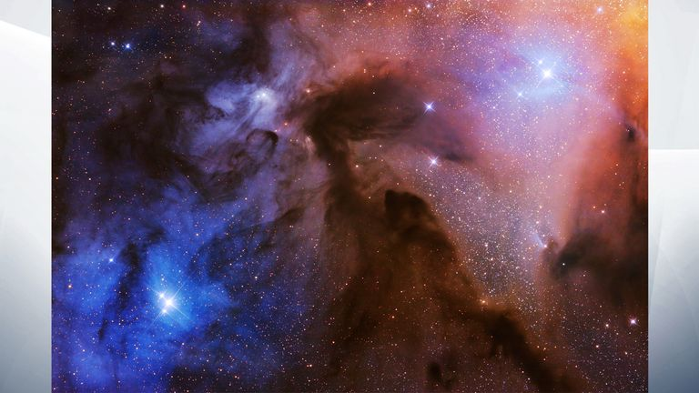 Overall winner: The Rho Ophiuchi Clouds. Pic: Artem Mironov